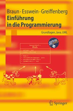 Einführung in die Programmierung von Braun,  Robert, Esswein,  Werner, Greiffenberg,  Steffen