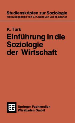 Einführung in die Soziologie der Wirtschaft von Türk,  K.