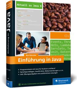 Einführung in Java von Günster,  Kai