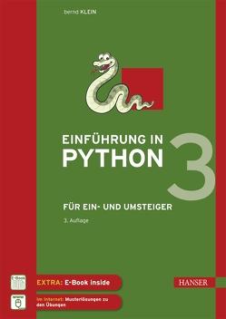 Einführung in Python 3 von Klein,  Bernd