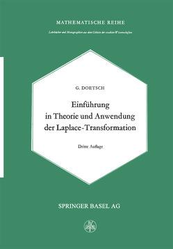 Einführung in Theorie und Anwendung der Laplace-Transformation von Doetsch,  G.