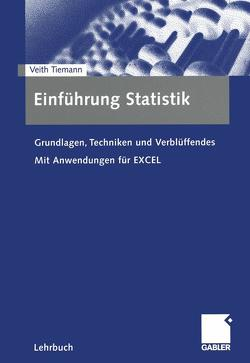 Einführung Statistik von Tiemann,  Veith