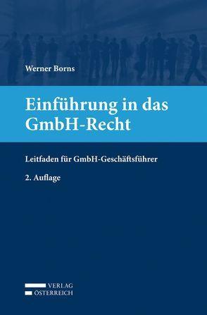 Einführung in das GmbH-Recht von Borns,  Werner
