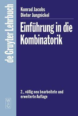 Einführung in die Kombinatorik von Jacobs,  Konrad, Jungnickel,  Dieter