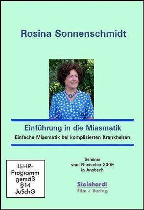 Einführung in die Miasmatik von Sonnenschmidt,  Rosina