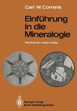 Einführung in die Mineralogie von Correns,  Carl W., Koritnig,  Sigmund, Zemann,  Josef