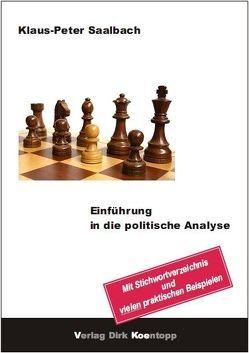 Einführung in die politische Analyse von Saalbach,  Klaus-Peter