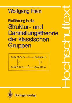 Einführung in die Struktur- und Darstellungstheorie der klassischen Gruppen von Hein,  Wolfgang