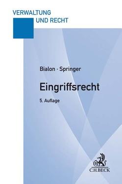 Eingriffsrecht von Bialon,  Jörg, Springer,  Uwe