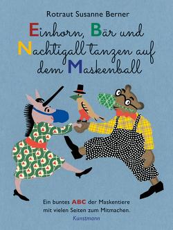 Einhorn, Bär und Nachtigall tanzen auf dem Maskenball von Berner,  Rotraut Susanne