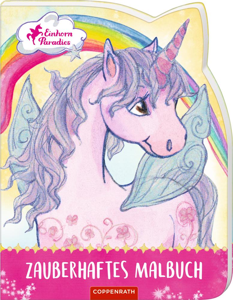 Einhorn Paradies Zauberhaftes Malbuch Von Finsterbusch Monika Gerig