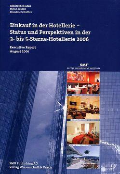 Einkauf in der Hotellerie von Jahns,  Christopher, Schüffler,  Christine, Walter,  Stefan