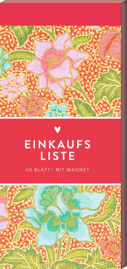Einkaufsliste (Pinke Blumen, Hölker Küchenpapeterie)