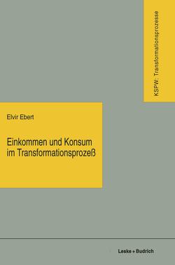 Einkommen und Konsum im Transformationsprozeß von Ebert,  Elvir