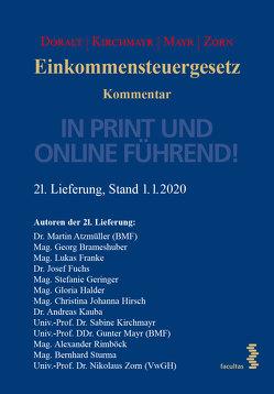 Einkommenssteuergesetz von Doralt,  Werner, Kirchmayr-Schliesselberger,  Sabine, Mayr,  Gunter, Zorn,  Nikolaus
