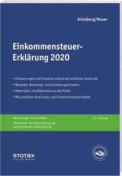 Einkommensteuer-Erklärung 2020 von Dörflinger,  Nina, Schalburg,  Martin
