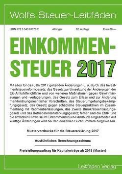Einkommensteuer für 2017 von Albinger,  Bert