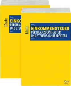 Einkommensteuer für Bilanzbuchhalter und Steuersachbearbeiter von Winkler,  Herbert