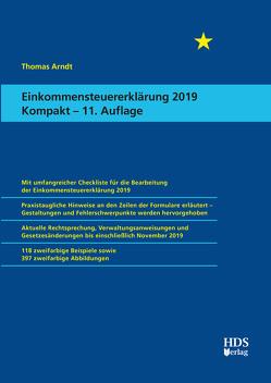 Einkommensteuererklärung 2019 Kompakt von Arndt,  Thomas