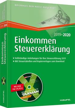 Einkommensteuererklärung plus DVD von Dittmann,  Willi, Haderer,  Dieter, Happe,  Rüdiger