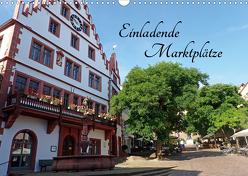 Einladende Marktplätze (Wandkalender 2020 DIN A3 quer) von Andersen,  Ilona