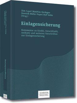 Einlagensicherung von Cupei,  Dirk, Herdegen,  Matthias, Müller-Feyen,  Dominik, Sethe,  Rolf