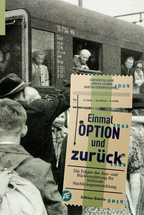 Einmal Option und zurück von Pallaver,  Günther, Steurer,  Leopold, Verdorfer,  Martha