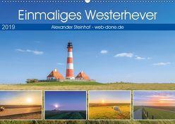 Einmaliges Westerhever (Wandkalender 2019 DIN A2 quer) von Steinhof,  Alexander