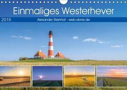 Einmaliges Westerhever (Wandkalender 2019 DIN A4 quer) von Steinhof,  Alexander
