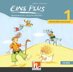 EINS PLUS 1 Arbeitsblatt-Generator von Kleißner,  Elisa, Scharnreiter,  Michael, Wohlhart,  David