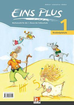 EINS PLUS 1 NEU Knobelplakate – SBNr. 160560 von Kleißner,  Elisa, Scharnreitner,  Michael, Wohlhart,  David