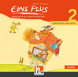 EINS PLUS 2 Arbeitsblatt-Generator von Kleißner,  Elisa, Scharnreiter,  Michael, Wohlhart,  David