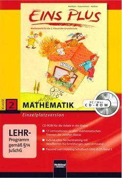 EINS PLUS 2. Ausgabe D. Lernsoftware für die Klasse von Elisa,  Kleißner, Scharnreitner,  Michael, Wohlhart,  David