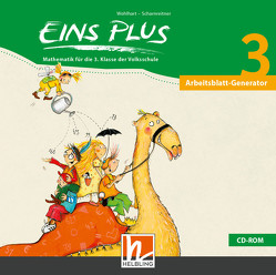 EINS PLUS 3 Arbeitsblatt-Generator von Kleißner,  Elisa, Scharnreiter,  Michael, Wohlhart,  David