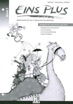 EINS PLUS 3. Ausgabe D. Handbuch für Lehrerinnen und Lehrer von Elisa,  Kleißner, Scharnreitner,  Michael, Wohlhart,  David