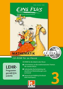 EINS PLUS 3 CD-ROM für zu Hause NEU von Kleißner,  Elisa, Scharnreiter,  Michael, Wohlhart,  David