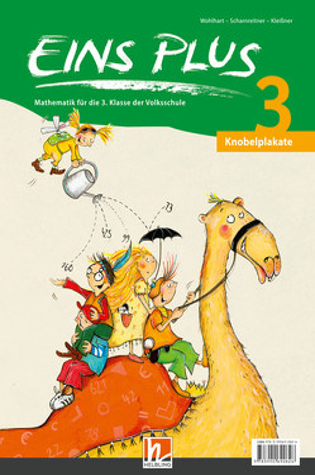 EINS PLUS 3 Knobelplakate – SBNr. 160.562 NEU von Kleißner,  Elisa, Scharnreitner,  Michael, Wohlhart,  David