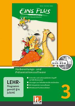 EINS PLUS 3, Vorbereitungs- und Präsentationssoftware von Kleißner,  Elisa, Scharnreitner,  Michael, Wohlhart,  David