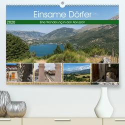 Einsame Dörfer – Eine Wanderung in den Abruzzen (Premium, hochwertiger DIN A2 Wandkalender 2020, Kunstdruck in Hochglanz) von Jorda Motzkau,  Marisa
