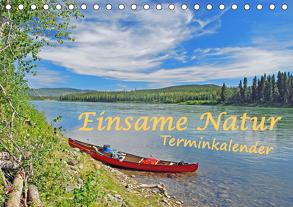 Einsame Natur – Terminkalender (Tischkalender 2020 DIN A5 quer) von Berger,  Anita