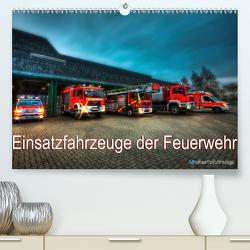 Einsatzfahrzeuge der Feuerwehr (Premium, hochwertiger DIN A2 Wandkalender 2021, Kunstdruck in Hochglanz) von Will,  Markus