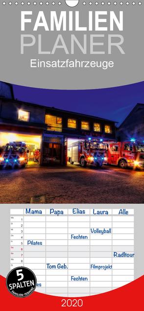 Einsatzfahrzeuge – Familienplaner hoch (Wandkalender 2020 , 21 cm x 45 cm, hoch) von Will,  Markus