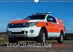 Einsatzfahrzeuge (Wandkalender 2018 DIN A4 quer) von Heinz,  Marcus
