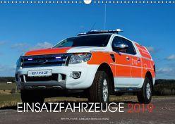 Einsatzfahrzeuge (Wandkalender 2019 DIN A3 quer) von Heinz,  Marcus