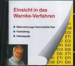 Einsicht in das Warnke-Verfahren von Warnke,  Fred