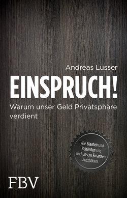 Einspruch! von Lusser,  Andreas