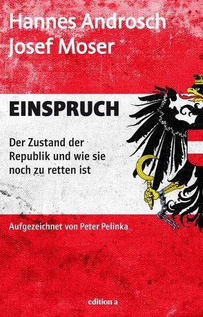 Einspruch von Androsch,  Hannes, Moser,  Josef