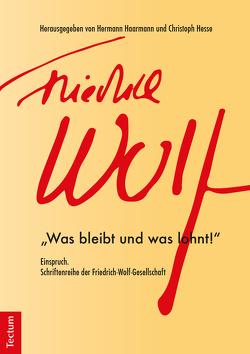 Einspruch. Schriftenreihe der Friedrich-Wolf-Gesellschaft von Harmann,  Hermann