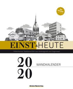einst & heute – Hildesheimer Stadtansichten aus Vorkriegszeit und Gegenwart von Abromeit,  Sven, Harborth,  Christian