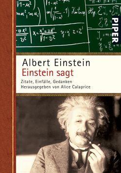 Einstein sagt von Calaprice,  Alice, Dyson,  Freeman, Einstein,  Albert